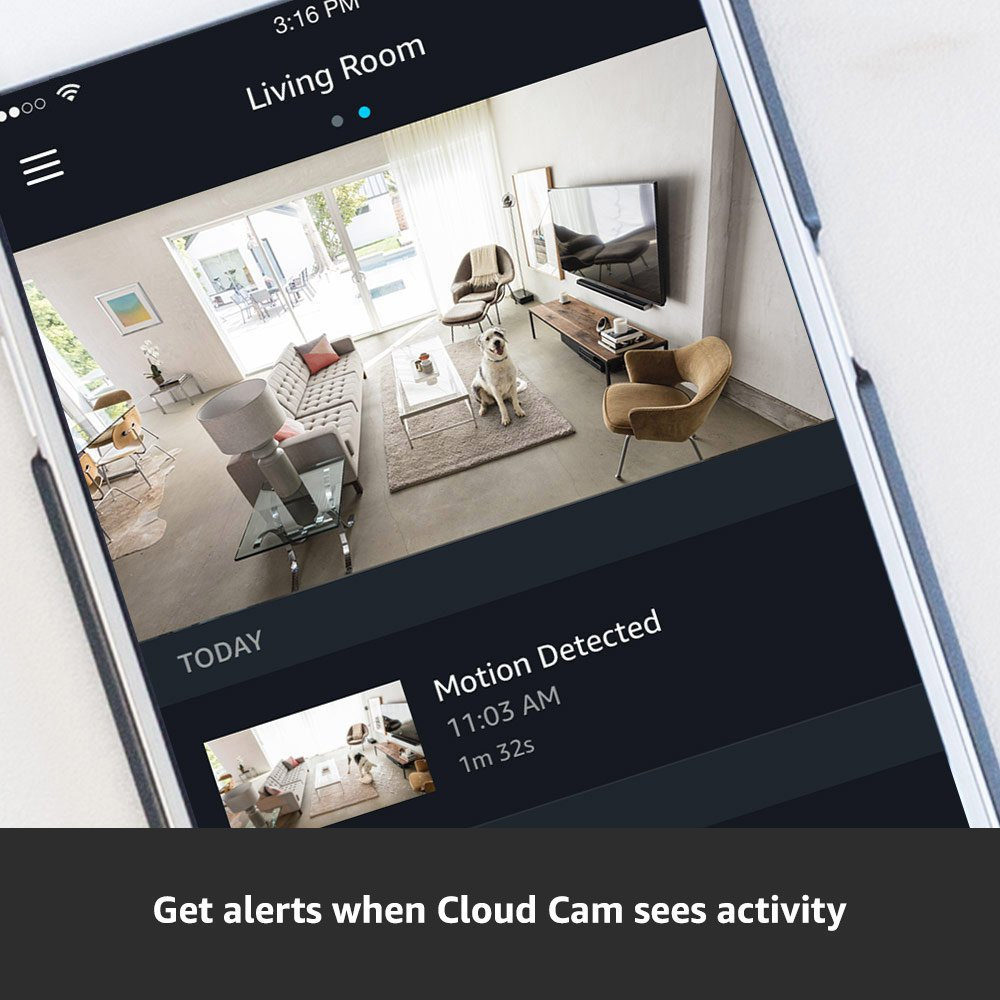Amazon Cloud Cam Security Camera, Works with Alexa by Amazon (Image #3)