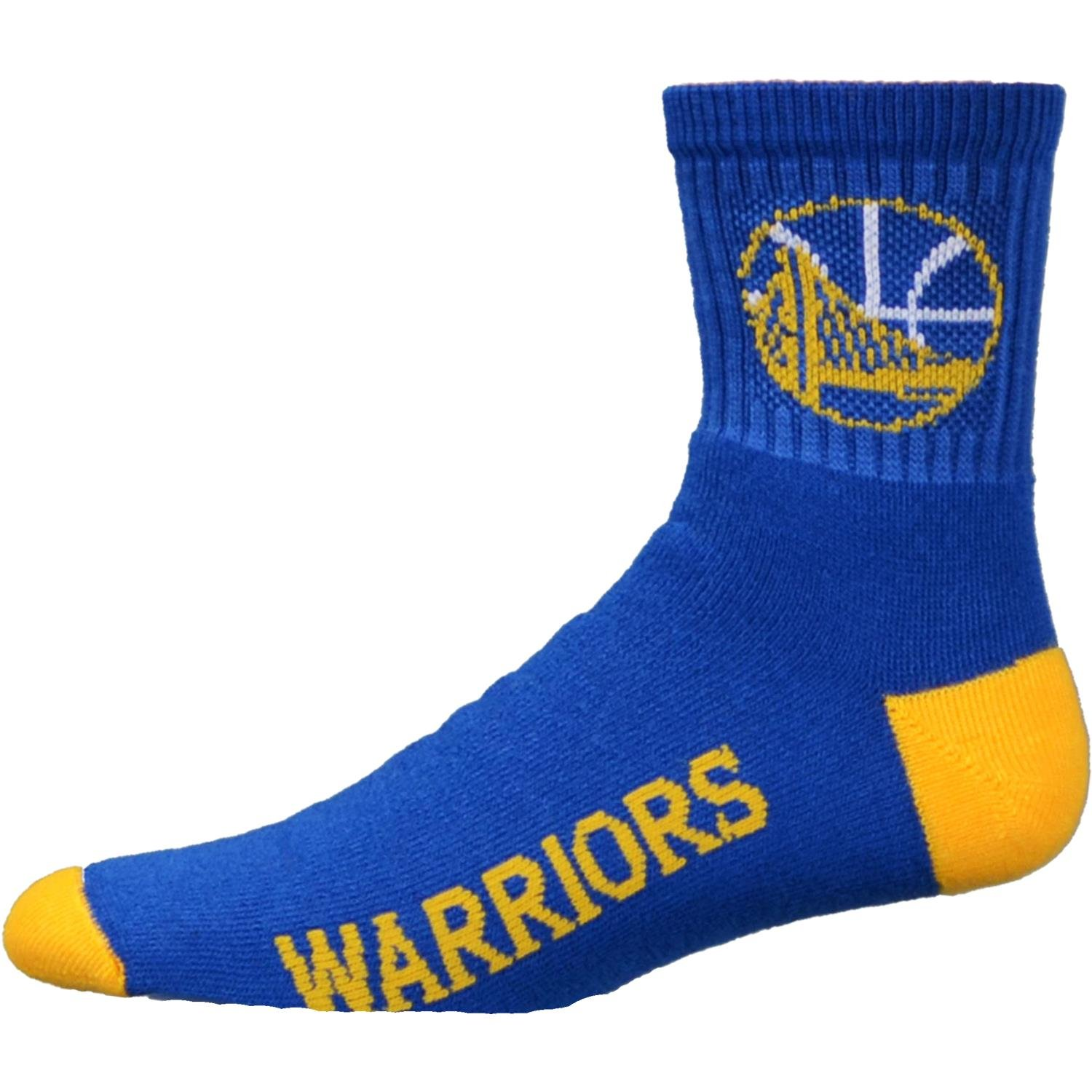 NBA Golden State Warriors Youth Team Color Ankle Socks - Royal Blue/Gold