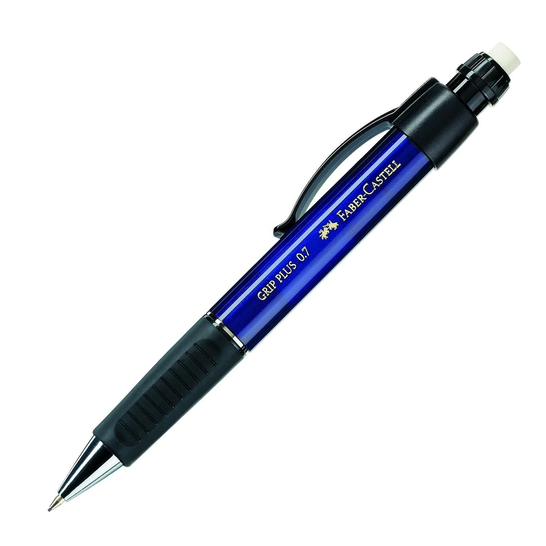 FABER-CASTELL Druckbleistift GRIP PLUS 1307, metallic-blau 130732