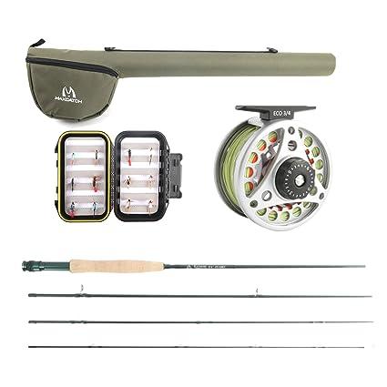 1ef04224ad64 M MAXIMUMCATCH Maxcatch Extreme Fly Fishing Rod Combo Kit 3weight (3wt Rod  Combo)