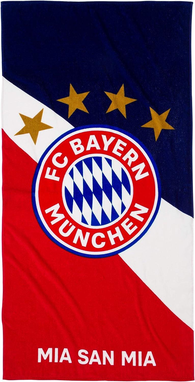 FC Bayern M/ünchen Beach Towel with German Text 150 cm x 75 cm