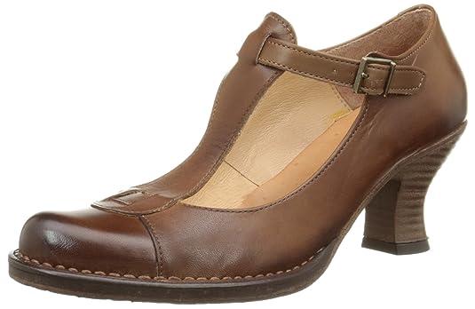 845 Rococo, Womens Ankle Strap Pumps Neosens