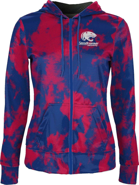 Grunge School Spirit Sweatshirt ProSphere University of South Alabama Girls Zipper Hoodie