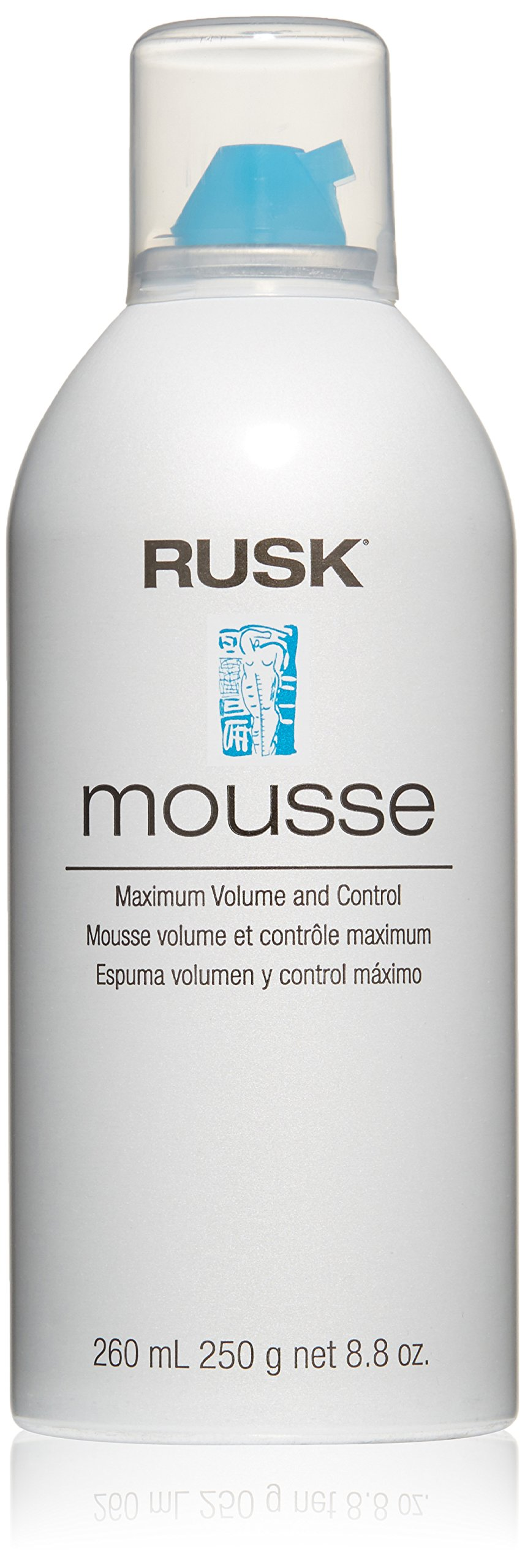 RUSK Designer Collection Mousse Maximum Volume and Control, 8.8 oz. by RUSK