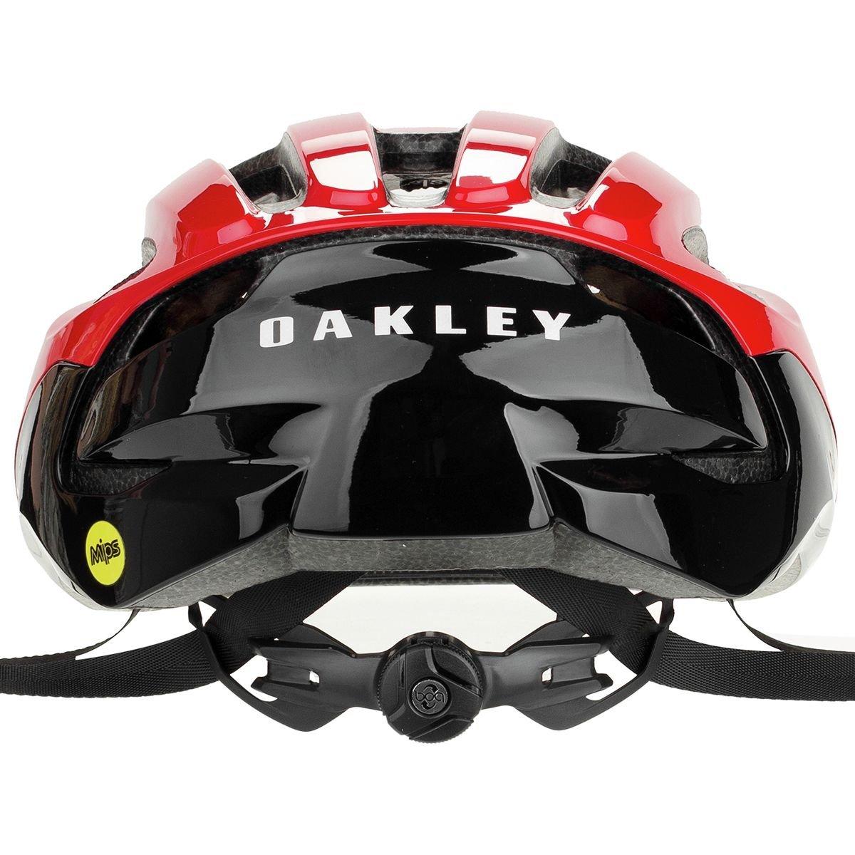 Oakley ARO3 - Casco de Bicicleta - Rojo/Negro Contorno de la Cabeza S 2018: Amazon.es: Deportes y aire libre