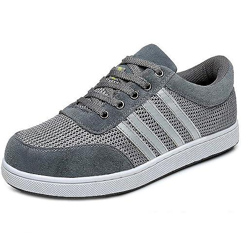 plus récent dd497 704aa CHNHIRA Chaussure de Sécurité Homme Femme Embout Acier Protection  Anti-Perforation Chaussure de Travail …