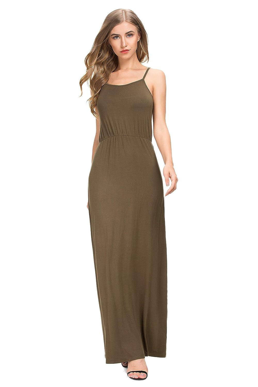 1e6b221485c55 MSHING Women Sexy Off Shoulder Short Sleeve Loose Split Dress Beach Long  Dress