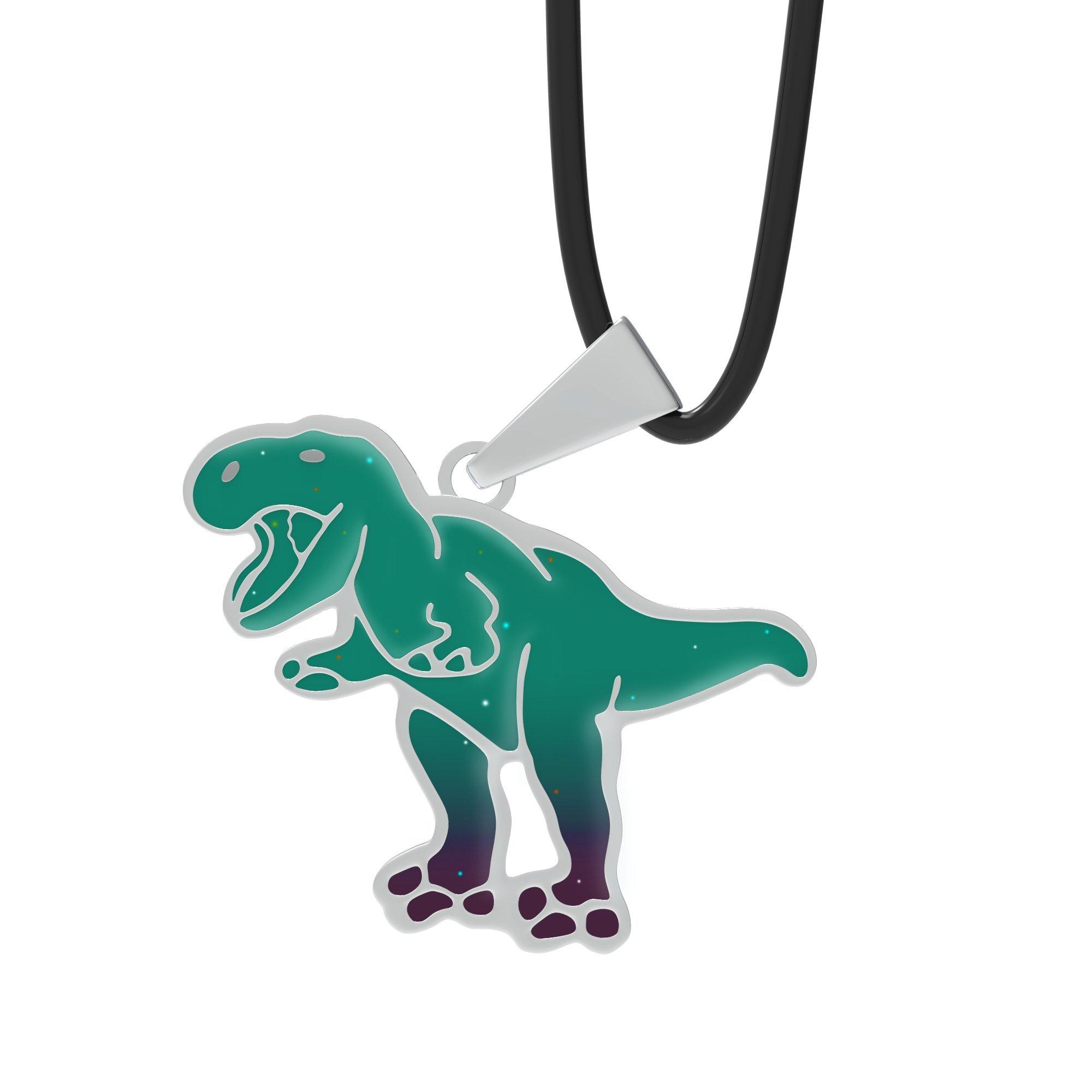 Ello Elli T-Rex Mood Leather Necklace