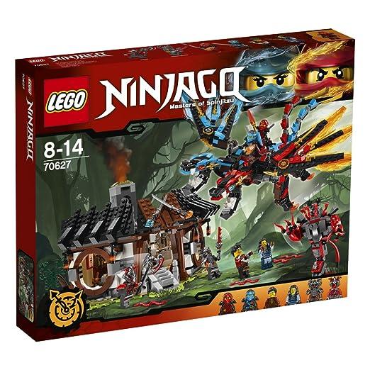4 opinioni per LEGO Ninjago 70627- La Forgia del Dragone
