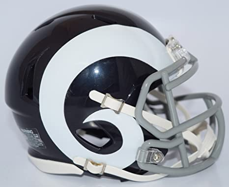 2a1cba3a7 Image Unavailable. Image not available for. Color  Riddell LOS ANGELES RAMS  NFL Revolution SPEED Mini ...