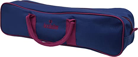Acclaim Chatton Nylon Four Bowl Level Lawn Flat Green Short Mat Indoor Outdoor Bowls Carrier Burgundy//Navy