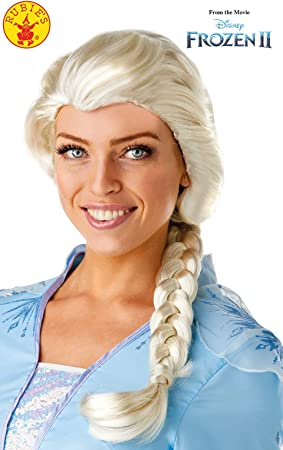 Rubies - Peluca oficial de Disney Frozen 2, Elsa, accesorio para ...