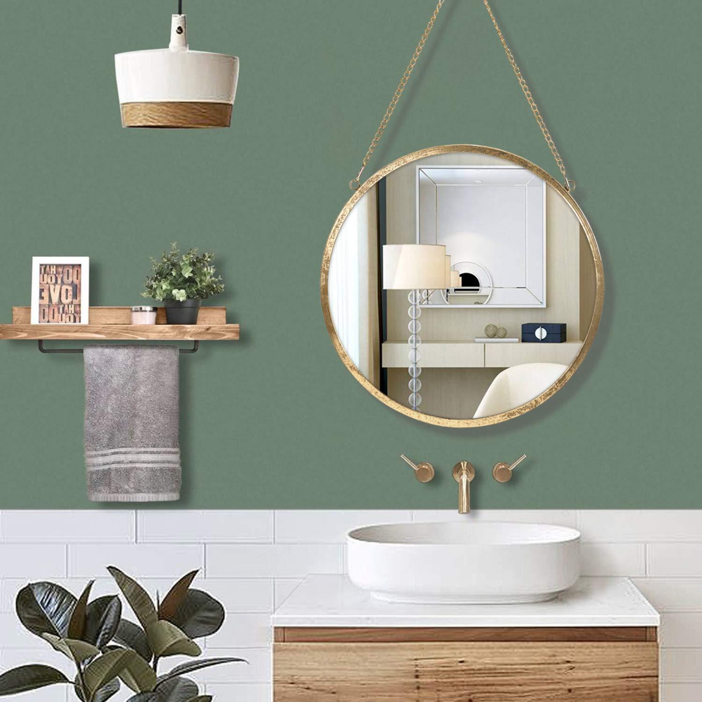 Specchi da parete Rumcent Specchio Rotondo da Parete Bagno ...