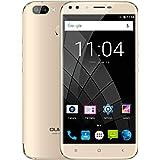 OUKITEL U22 SIMフリースマートフォン 5.5インチ 2GB RAM 16GB ROM Android 7.0 (ゴールド)