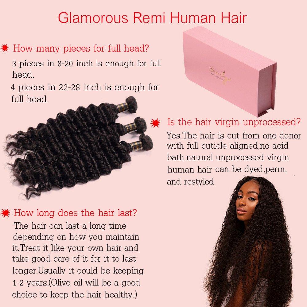 Amazon Com Glamorous Remi Brazilian Virgin Curly Hair Natural