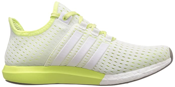 newest eb351 e8f8a adidas Women s s Climachill Gazelle Boost Running Shoes, Weiß FTWR  White Light Flash Yellow S15, 4.5 UK  Amazon.co.uk  Shoes   Bags