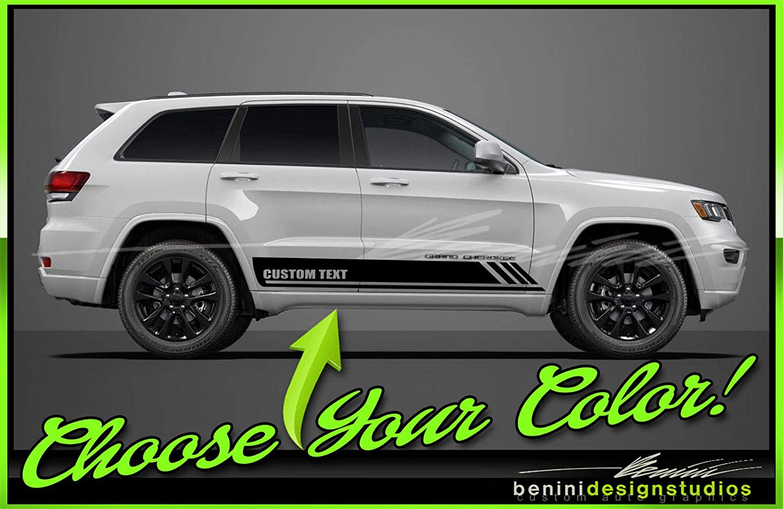Rocker Side Stripe Decal Graphics Body Kit Dodge Ram Hemi Universal Style