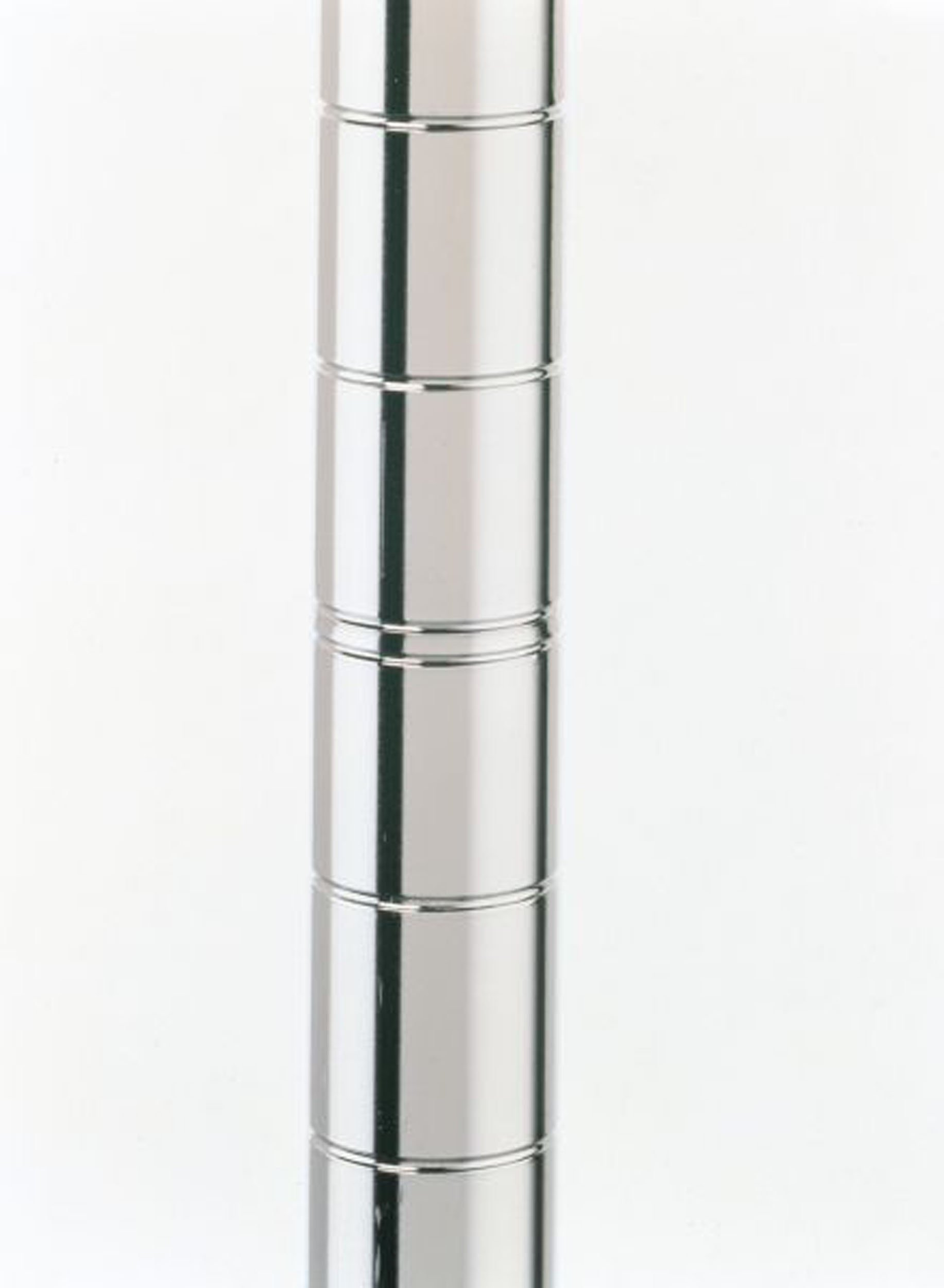 Metro 86UP Metro Site Select Chrome Plated Steel Mobile Post, 1'' Diameter x 86-5/8'' Height (Pack of 4)