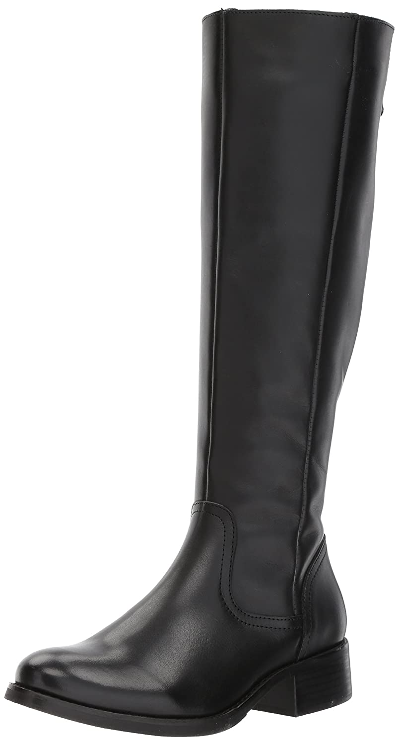 Steve Madden Women's Lover Western Boot B072136DLS 7.5 B(M) US|Black Leather