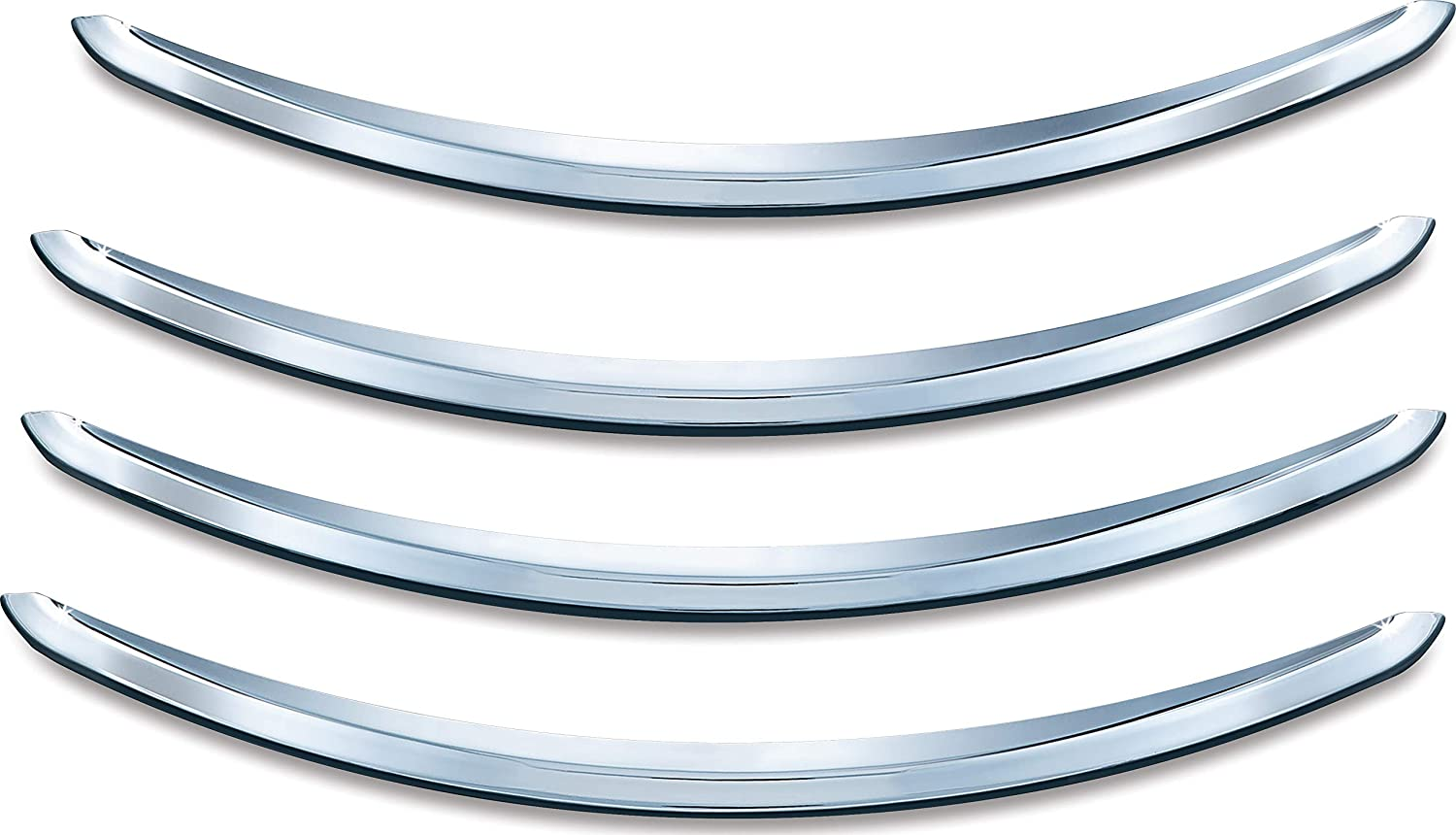 Kuryakyn 8643 Motorcycle Accent Accessory Trailing Edge Front Fender Tip for 1998-2019 Harley-Davidson Motorcycles Chrome