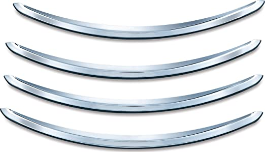 Chrome Rear  Accents Fits Harley  FLHX 06-17 FLTRX 15-16