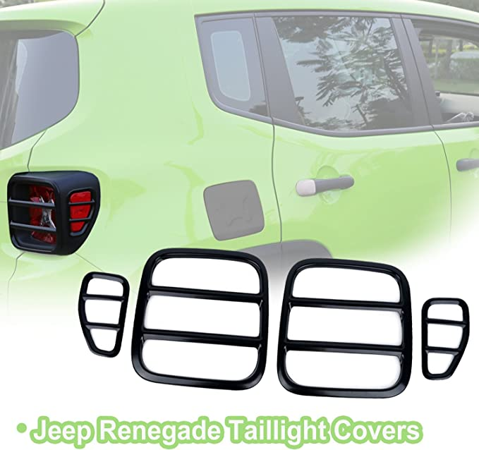 for Jeep Renegade 2015-2017 Oil Filter Box Auto Styling Accessories N//A Car Fuel Filler Door Cover Gas Tank Cap