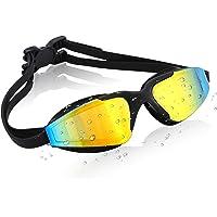Vaincre Swim Goggles Mirror Coated Unisex (Multiple Colors)