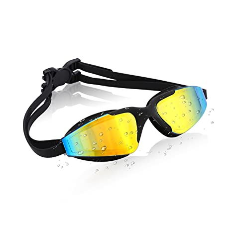 2c2ec7120974 Amazon.com   Vaincre Premium Swim Goggles for Men