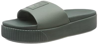 Puma Damen Platform Slide WNS Badeschuhe: Amazon.de: Schuhe ...