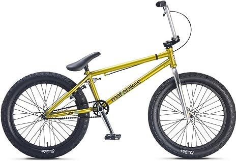 Mafiabikes Kush 2+ BMX - Bicicleta dorada, 50,8 cm: Amazon.es ...