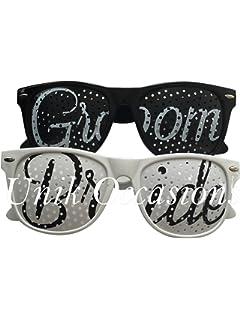 Amazon.com: 6 pcs Wayfarer Bridal Party Sunglasses (Assorted Styles ...