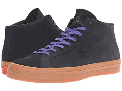 0bb2e5ea087c Image Unavailable. Image not available for. Color  Converse One Star Pro  Leather Mid Classic Shoes ...