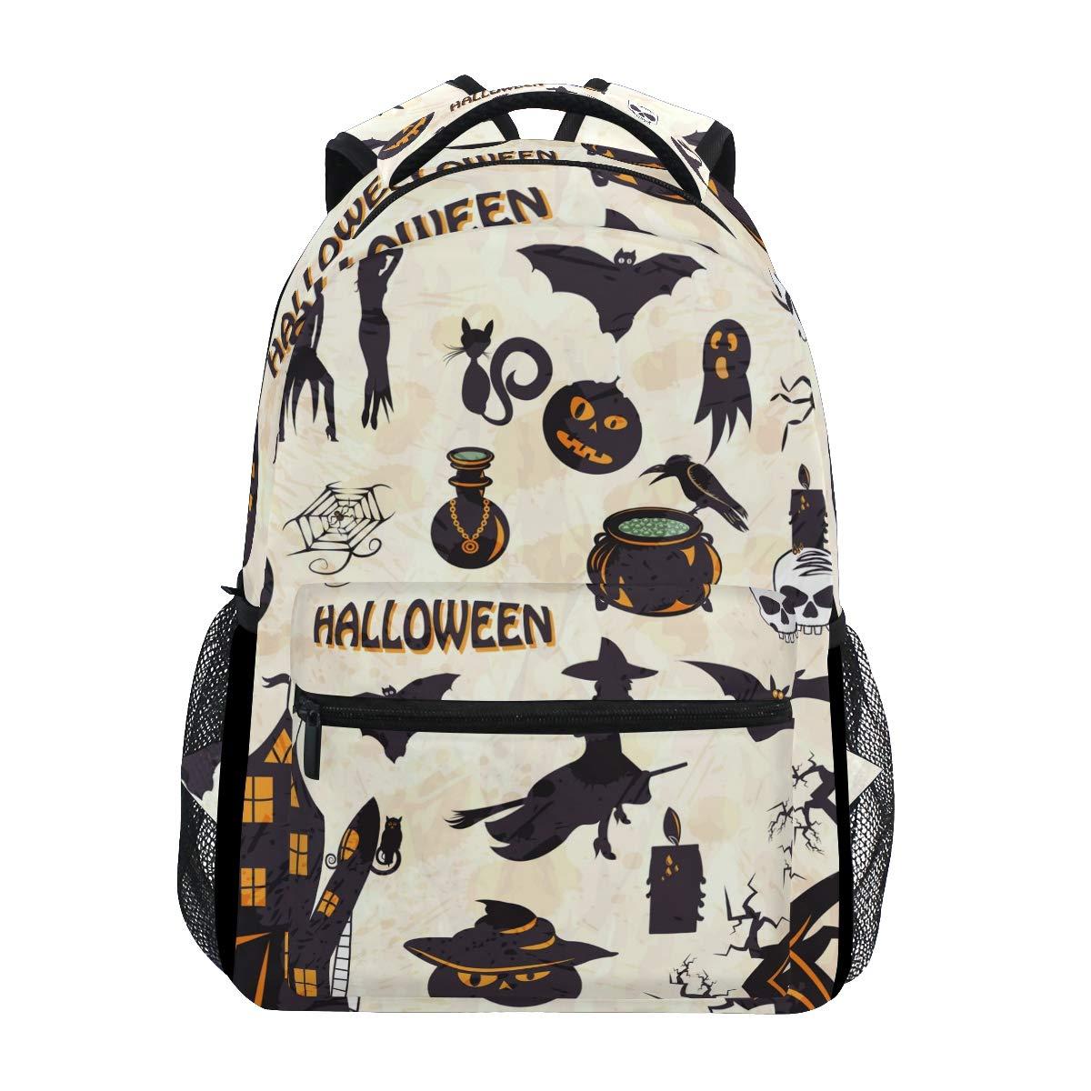FAJRO- Mochila de Viaje para para Viaje Halloween Witches b953bc