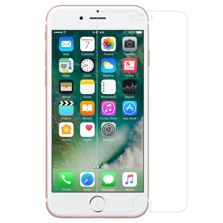 MoKo iPhone 8 Plus / iPhone 7 Plus Screen Protector, [Tempered  Glass][Oleophobic Coating][Bubbles-free] for Apple iPhone 8 Plus / 7 Plus /  6s Plus / 6