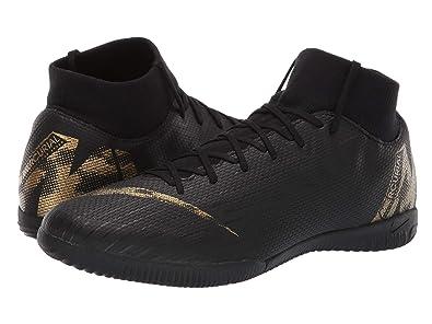 99b1addfc883 Nike Superfly 6 Academy IC Mens (6.5 M US, Black/Metallic Vivid Gold