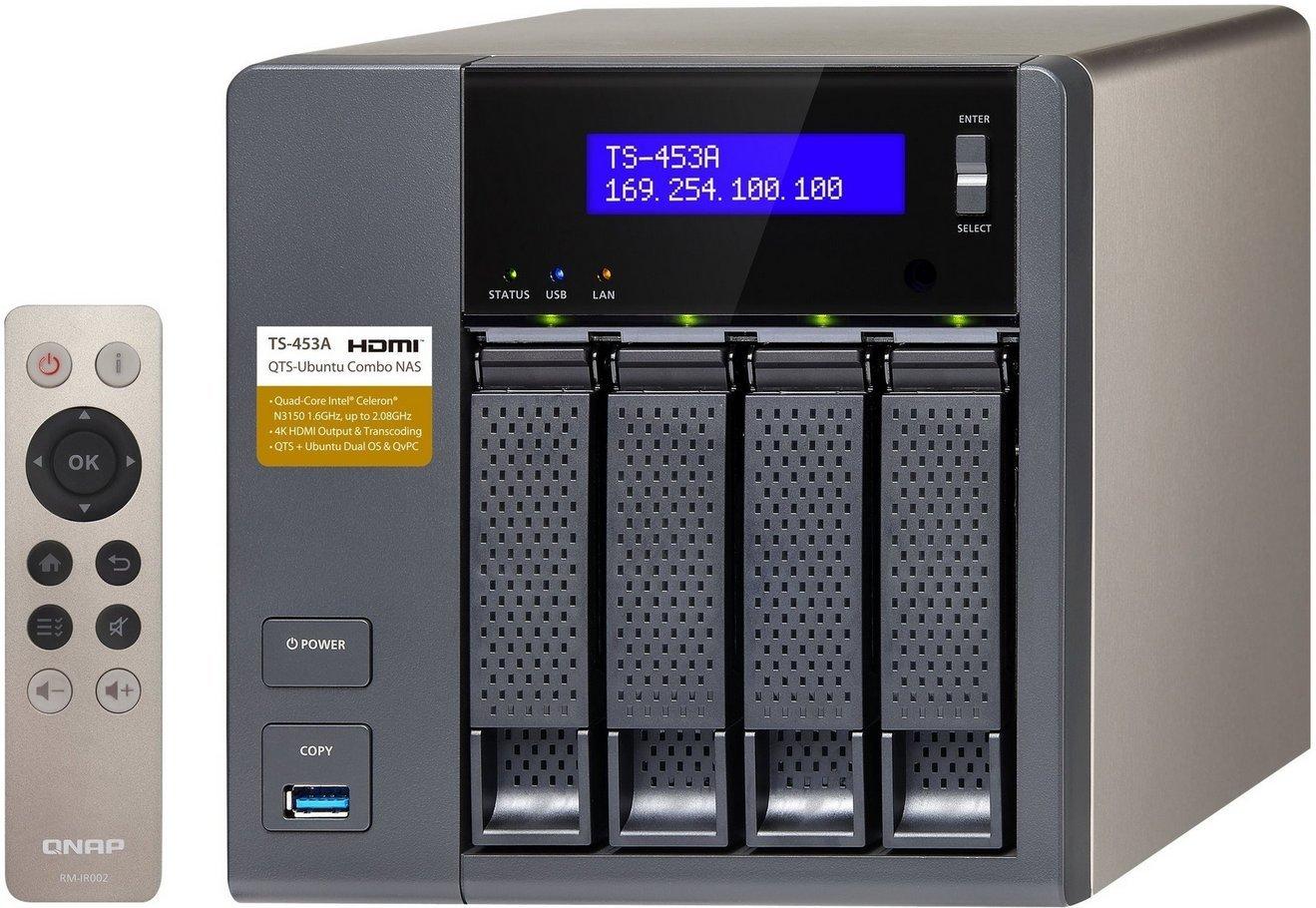QNAP TS-453A-4G 4-bay Network Attached Storag..