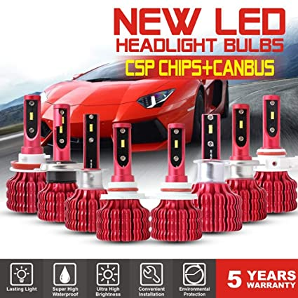 H4//HB2//9003 H7 9005//HB3 9006//HB4 H11 Mini LED Car Headlight Bulbs Load Resistor