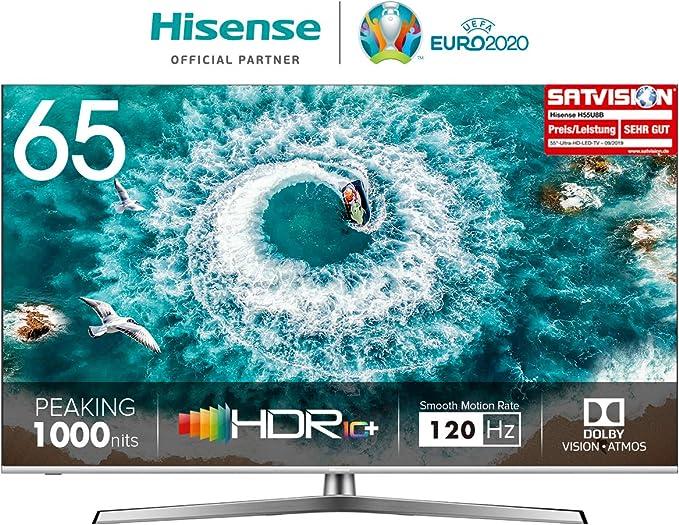 TELEVISOR 65 65U8B STV WiFi UHD ULED LOCALD SUBW HISENSE: Hisense: Amazon.es: Electrónica