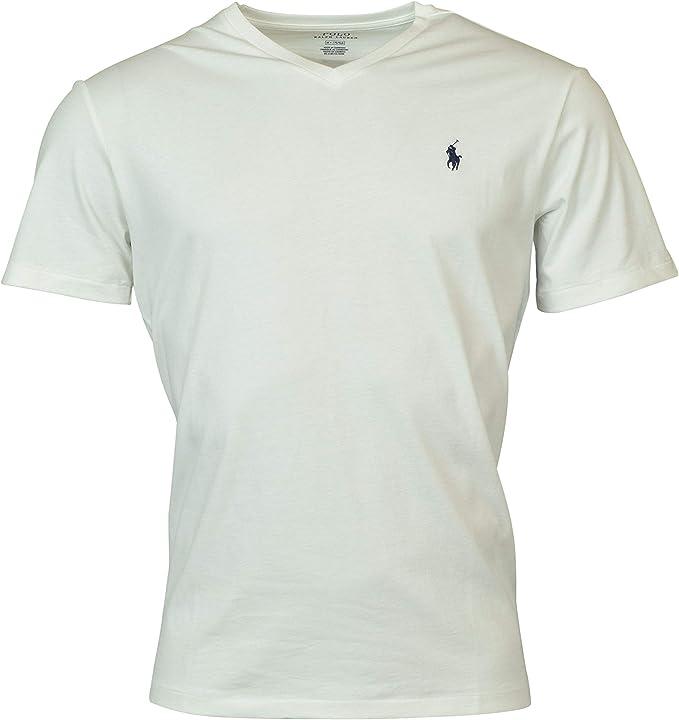 T shirt uomo Classic fit Polo Ralph Lauren bianca: Polo