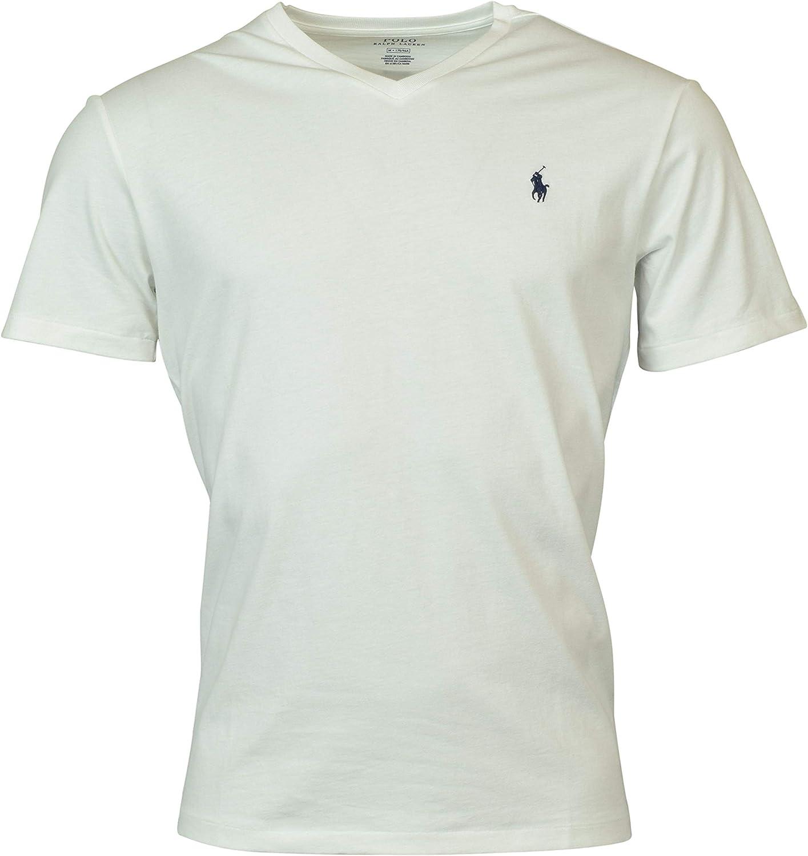 Polo Ralph Lauren Camiseta con cuello en V de los hombres (Large ...