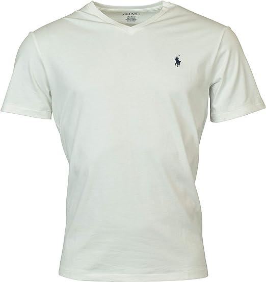 Polo Ralph Lauren - Camiseta con cuello en V para hombre: Amazon.es: Ropa y accesorios