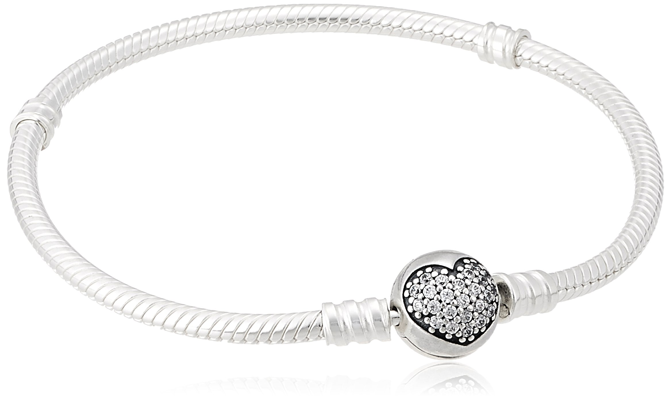 PANDORA-Sparkling-Heart-Bracelet-Clear-CZ-590743CZ-21-83-in