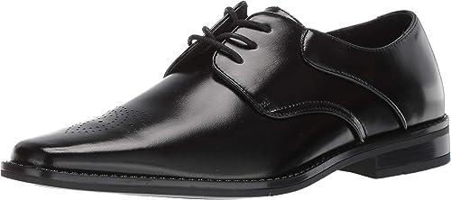 Black M Stacy Adams Men/'S Kendall Plain Toe Lace-Up Oxford