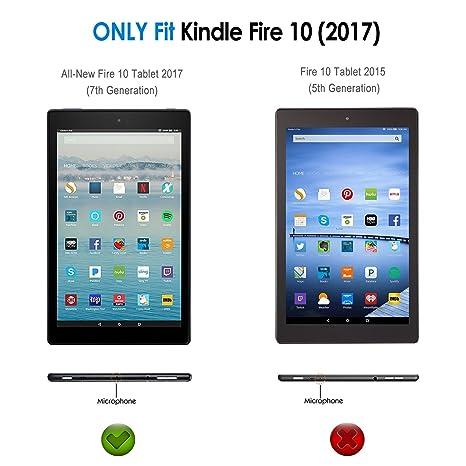 JETech Case for Amazon Fire HD 10 Tablet 10 1