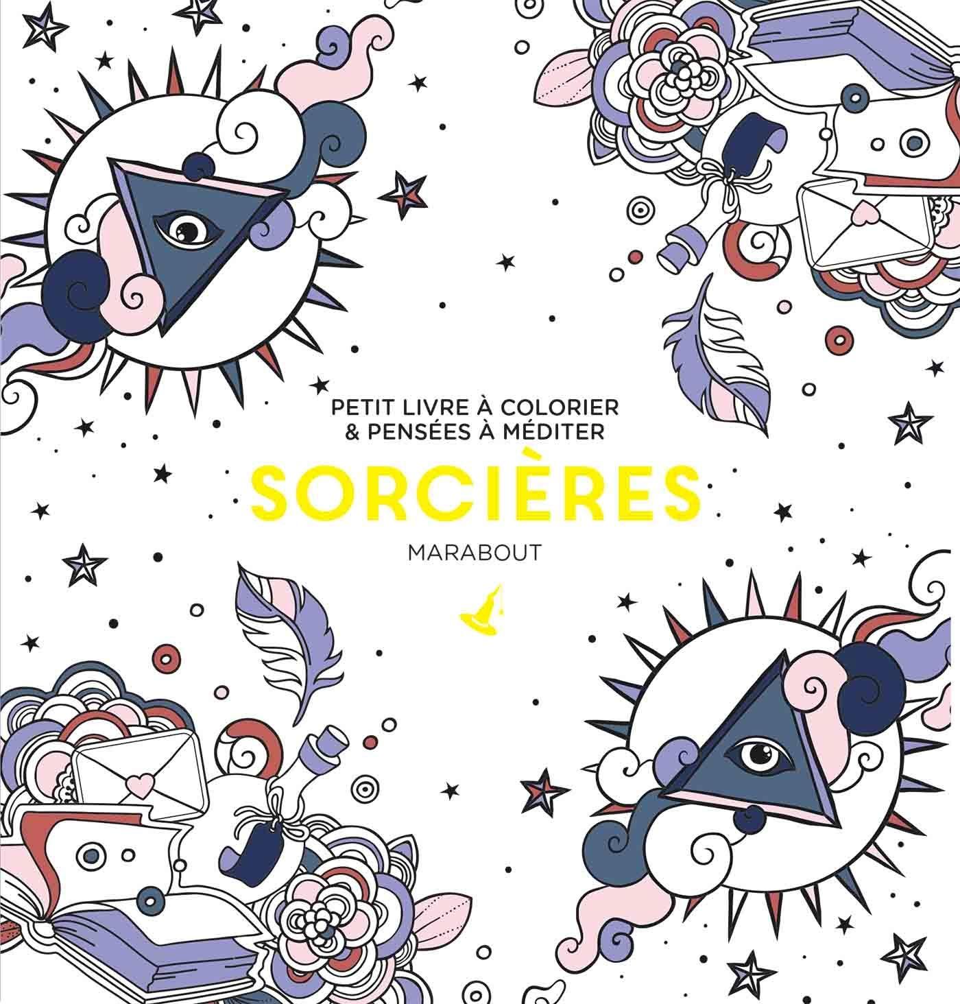 Coloriage Mandala Sorciere.Amazon Fr Le Petit Livre De Coloriages Sorcieres Collectif