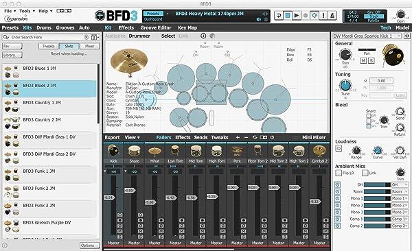 FXPANSION ( エフエックスパンション ) / BFD3 (パッケージ納品・ダウンロード版)