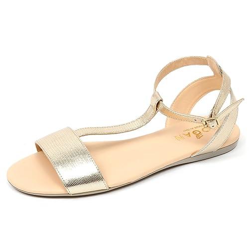 D0316 sandalo donna HOGAN VALENCIA scarpa platino shoe woman