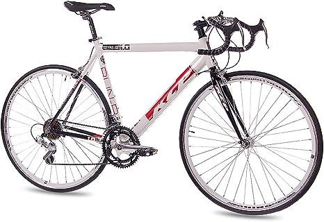 KCP - Bicicleta de carretera (de carreras, 56 cm, 14 velocidades ...