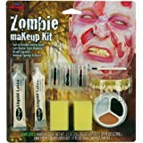 Male Zombie Halloween Make Up Kit