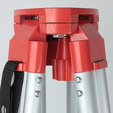 Ridgeyard 1.63M telesc/ópico tr/ípode de aluminio M/áximo estirable hasta 5 m con bolsa de transporte
